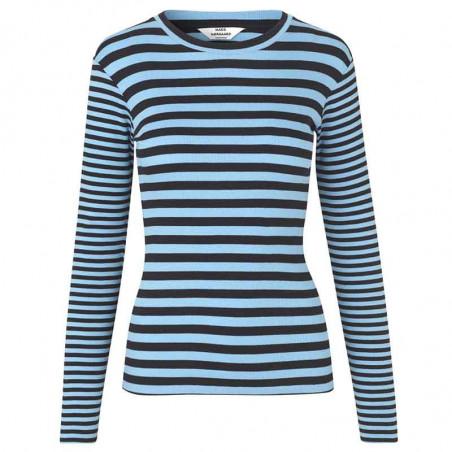 Mads Nørgaard T-shirt, Tuba Combi, Black/Clear Sky