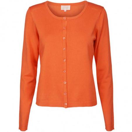 Minus Cardigan New Laura, Pumpkin Orange minus laura cardigan