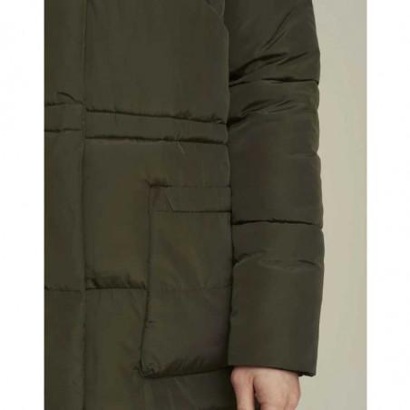Basic Apparel Jakke, Dagmar, Dark Army detalje lomme