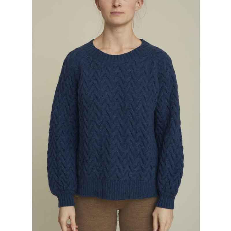 Image of   Basic Apparel Strik, Emma, Vintage Blue