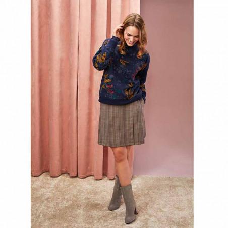 Nümph Bluse, Numehitabel, Sapphire Numph bluse Numph sweatshirt model
