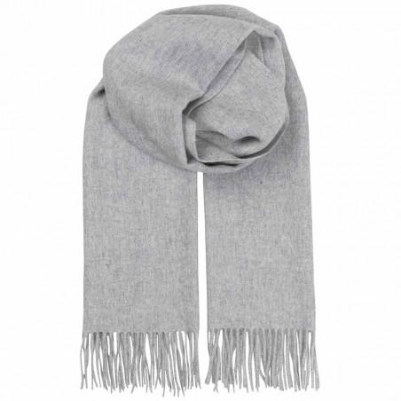 Beck Søndergaard Tørklæde, Crystal Edition, Light Grey Mel. beck søndergaard tørklæde uld