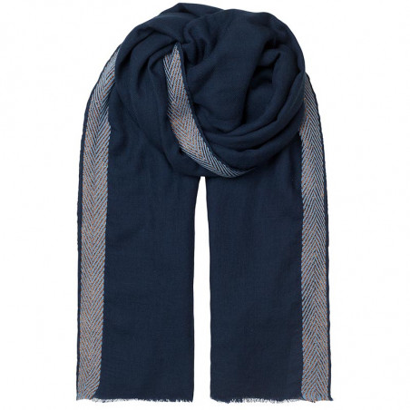 Beck Søndergaard Tørklæde uld, Bjana, Classic Navy