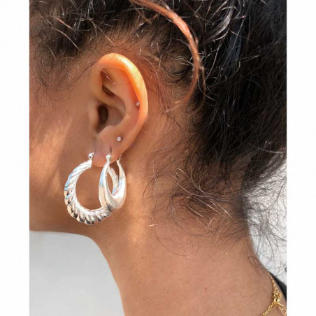 Pico øreringe, Vixton Hoops, silver, model, Pico øreringe, Vixton Hoops, sølv, model