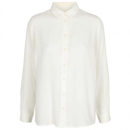 Basic Apparel skjorte, Alanis, eggnog, Basic Apparel skjorte, Alanis, creme