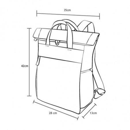 Roka rygsæk, Finchley A medium, Ash, mål