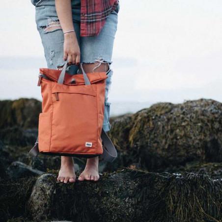 Roka rygsæk, Finchley A medium, Atomic Orange, model, vandtæt rygsæk, rygsæk dame, rygsæk mænd, computer rygsæk