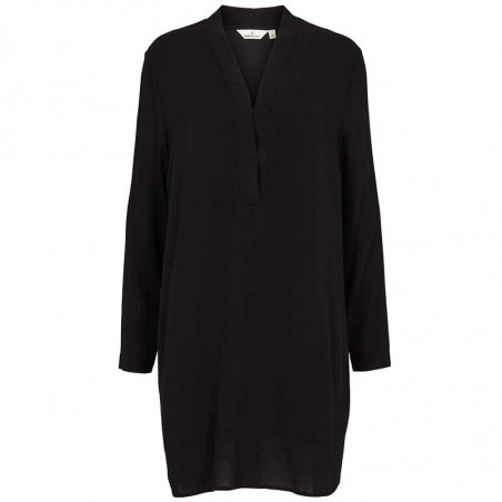 Basic Apparel kjole, Alanis, Black, Basic Apparel kjole, Alanis, sort, sort tunika