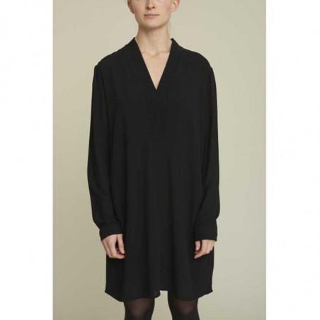 Basic Apparel kjole, Alanis, Black, model, Basic Apparel kjole, Alanis, sort, model, sort tunika