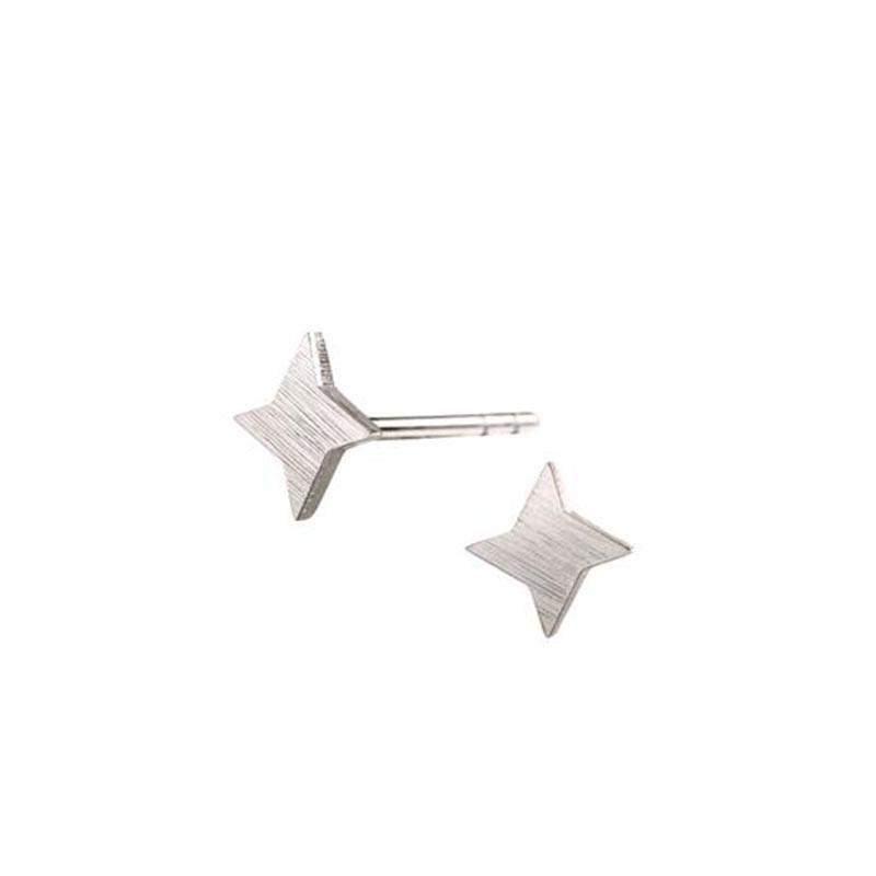 scherning – Scherning øreringe, stella, silver på superlove