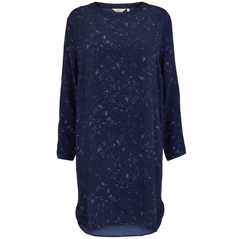 Image of Basic Apparel Kjole, Nicola, Winter Blue