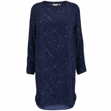 Basic Apparel Kjole, Nicola, Winter Blue, blå kjole