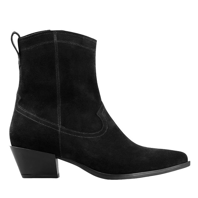vagabond – Vagabond støvler, emily, black suede på superlove