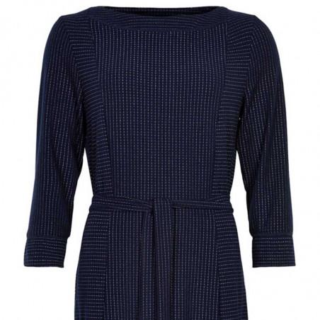 Nümph Kjole, Numirabei Jersey, Sapphire - Elegant Numph kjole