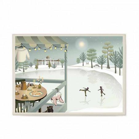 Vissevasse, Puslespil, Ice Skating