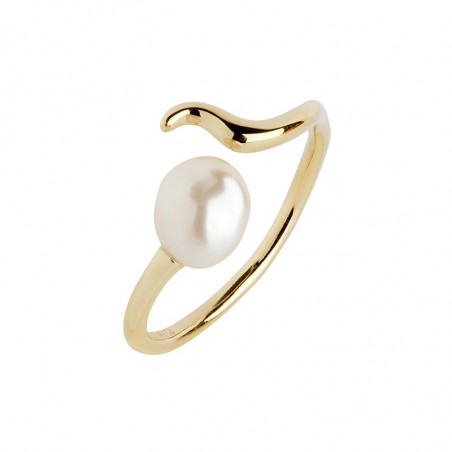 Maria Black Ring, Moonshine Ring, Guld