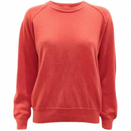 Stig P strik, Rochelle, Peach, økologisk tøj kvinder