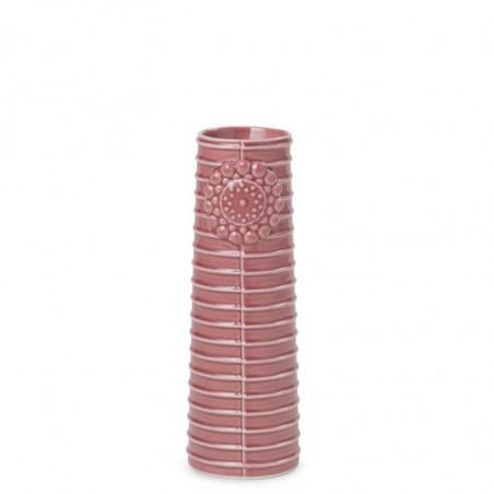 Finnsdottir Vase, Pipanella Lines Small, Dusty Rose, Dottir