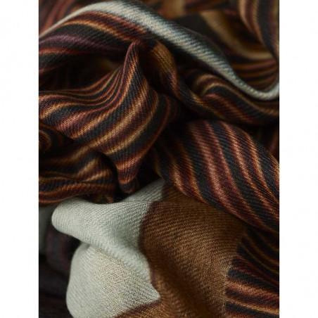 Inspired By Tørklæde, Wooden Stairs, Uld, detalje
