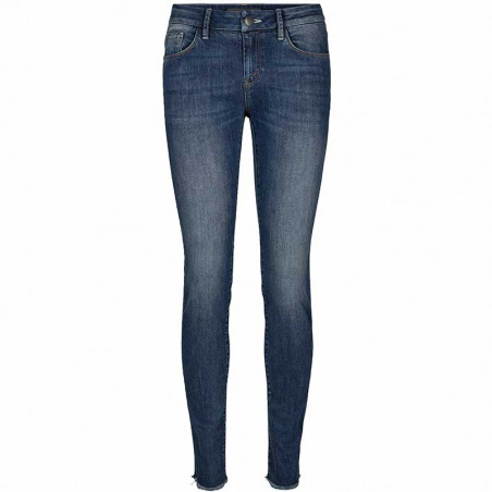 Mos Mosh Jeans, Summer Blossom, Mid Blue Wash
