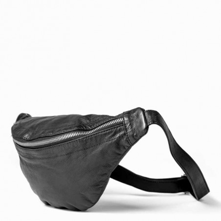ReDesigned By Dixie Taske, Mettemaja, Black, crossover taske, crossbody taske, crossbody bag, side