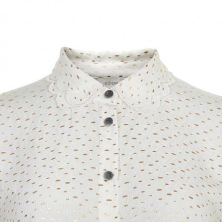 Nümph Skjorte, Nuiridiana, Pristine numph skjorte detalje