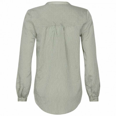 And Less Skjorte, Alorieaa, Olive, skjortebluse, bagside