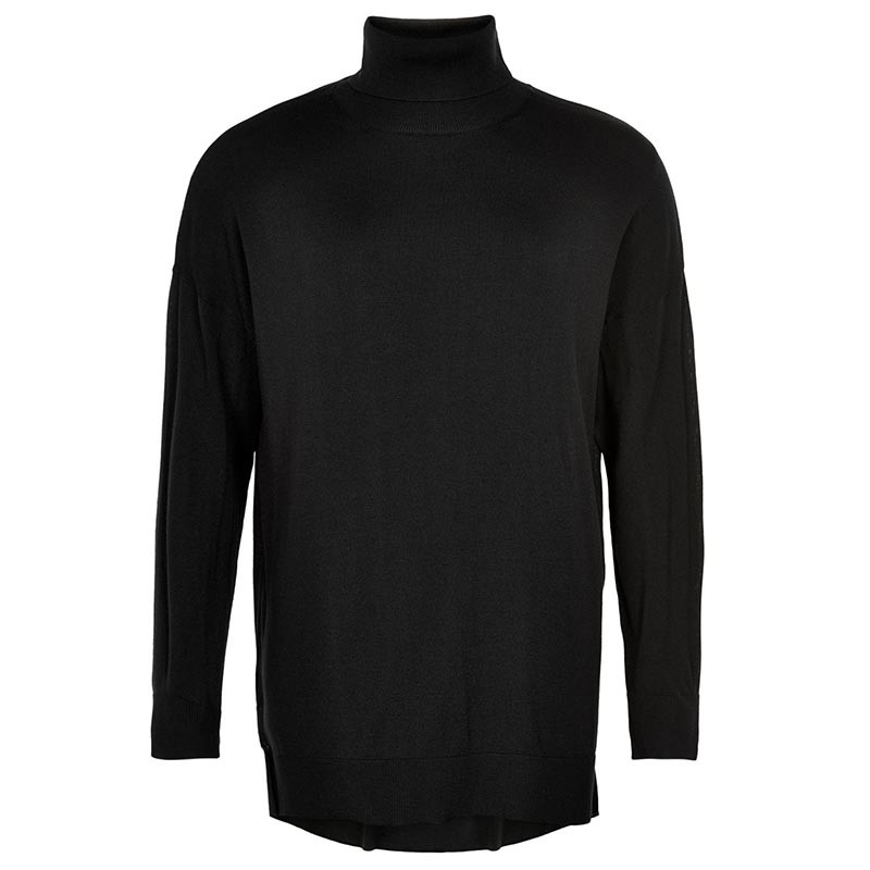 Image of And Less Rullekrave, Allesha Pullover Merinould, Caviar