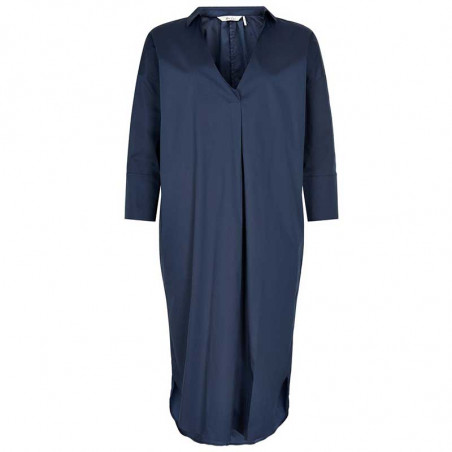 And Less Kjole, Alcaja, Blue Nights, skjortekjole, blå kjole