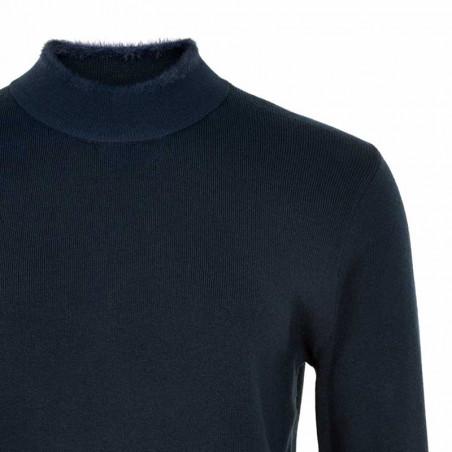 Nümph Strik, Nuemlyn, Sapphire, pullover, Numph Strik, Nuemlyn, Sapphire, detalje