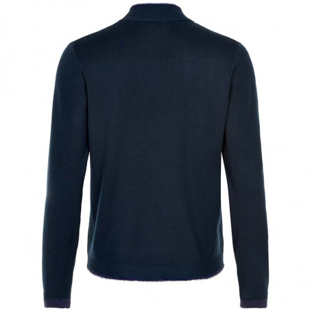 Nümph Strik, Nuemlyn, Sapphire, pullover, Numph Strik, Nuemlyn, Sapphire, bagside