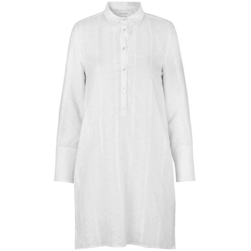 Storm og Marie Kjole, Linnea, White storm&marie storm & marie kjole Storm og Marie skjorte