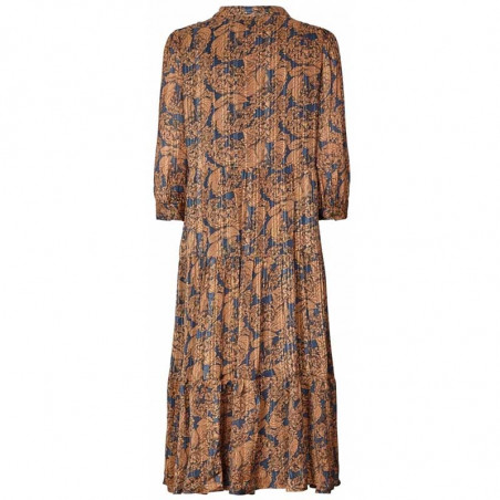 Lollys Laundry Kjole, Olivia, Flower Print, blomstret kjole, bagside