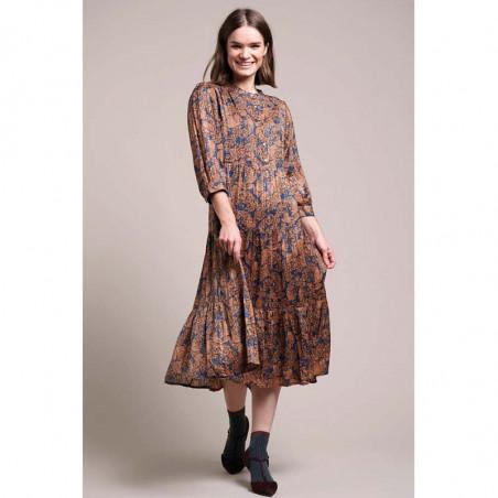 Lollys Laundry Kjole, Olivia, Flower Print, blomstret kjole, model