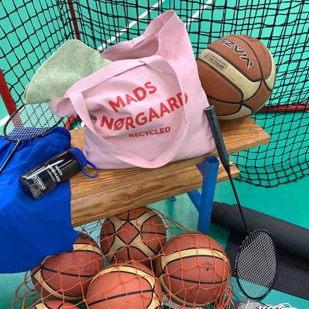 Mads Nørgaard Net, Athene Boutique Bag, Rose/Red, mulepose, indkøbsnet, model