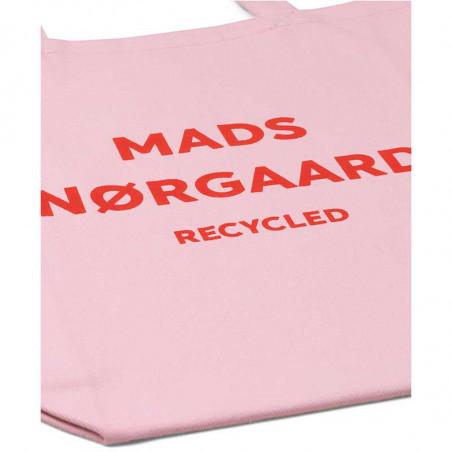 Mads Nørgaard Net, Athene Boutique Bag, Rose/Red, detalje, mulepose, indkøbsnet