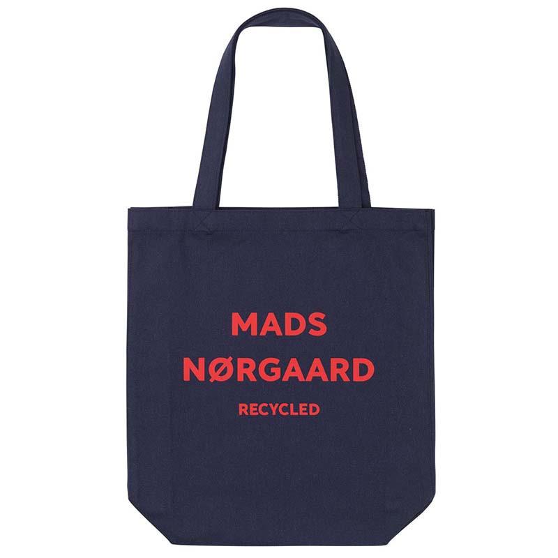 Mads Nørgaard Net, Athene Boutique Bag, Navy/Red, indkøbsnet, mulepose