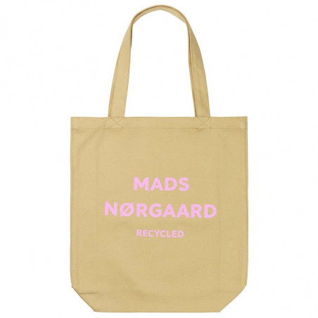Mads Nørgaard Net, Athene Boutique Bag, Beige/Rose, totebag, mulepose