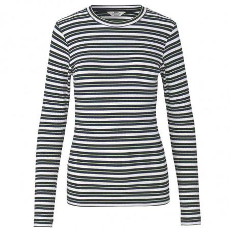 Mads Nørgaard Bluse, Tuba, Navy/Multi mads norgaard bluse mads nørgaard T-shirt