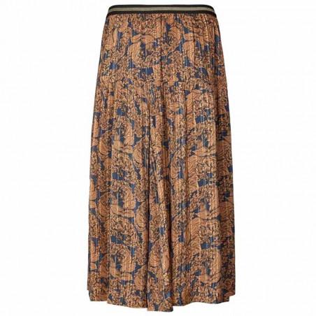 Lollys Laundry Nederdel, Cokko, Flower Print, blomstret nederdel, maxi nederdel, bagside
