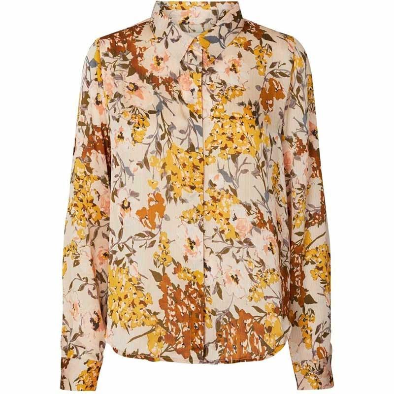 Image of   Lollys Laundry Skjorte, Liana, Flower print