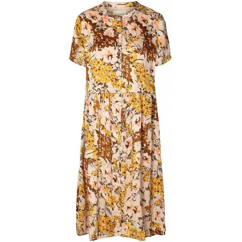 Lollys Laundry Kjole, Aliya, Flower Print, blomstret kjole, maxi kjole