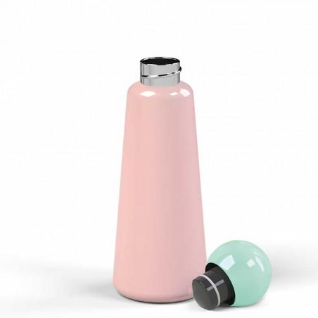 Lund London Termo Drikkedunk, Skittle, Pink med skruelåg