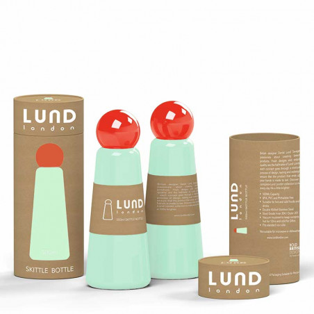 Lund London Termo Drikkedunk, Skittle, Mint - Tæt på