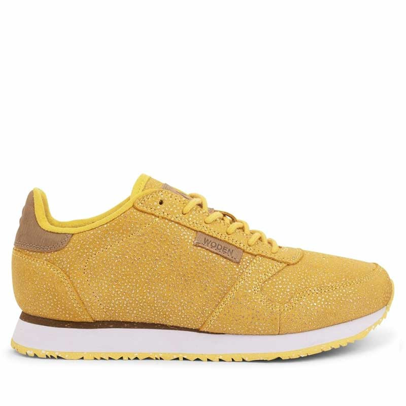 Woden Sneakers, Ydun Pearl, Super Lemon, gule sneakers, damesneakers, Woden sko