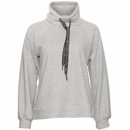 PBO Sweatshirt, Devant, Warm Grey Mel. pbo bluse