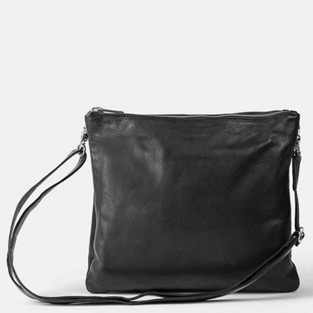 ReDesigned by Dixie Taske, Oslo Big, sort, detalje, dixie taske, crossover taske, crossbody