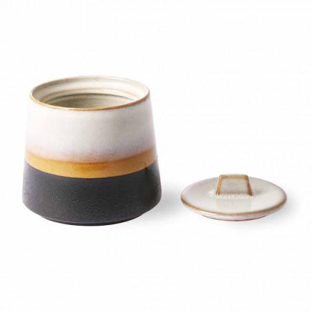 HK Living Sukkerskål, Ceramic 70's hk living dk hk living danmark åben