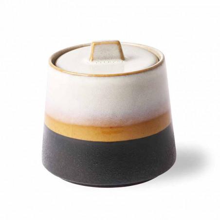 HK Living Sukkerskål, Ceramic 70's hk living dk hk living danmark side