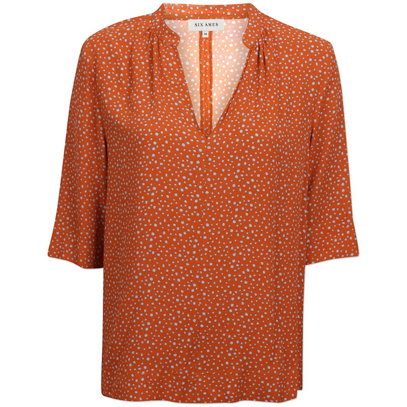 Six Ames Bluse, Myriam, Dot Heaven ecocover front